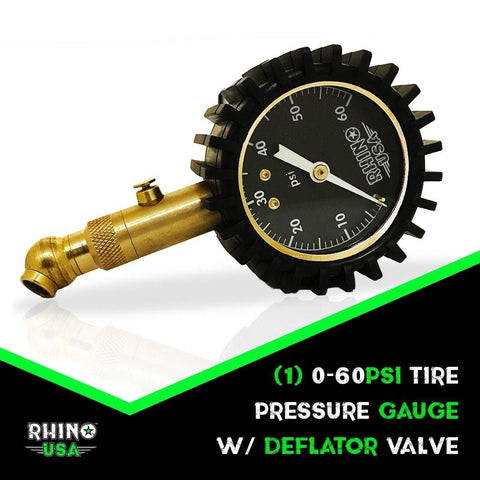 Image of 60 PSI Tire Pressure Gauge