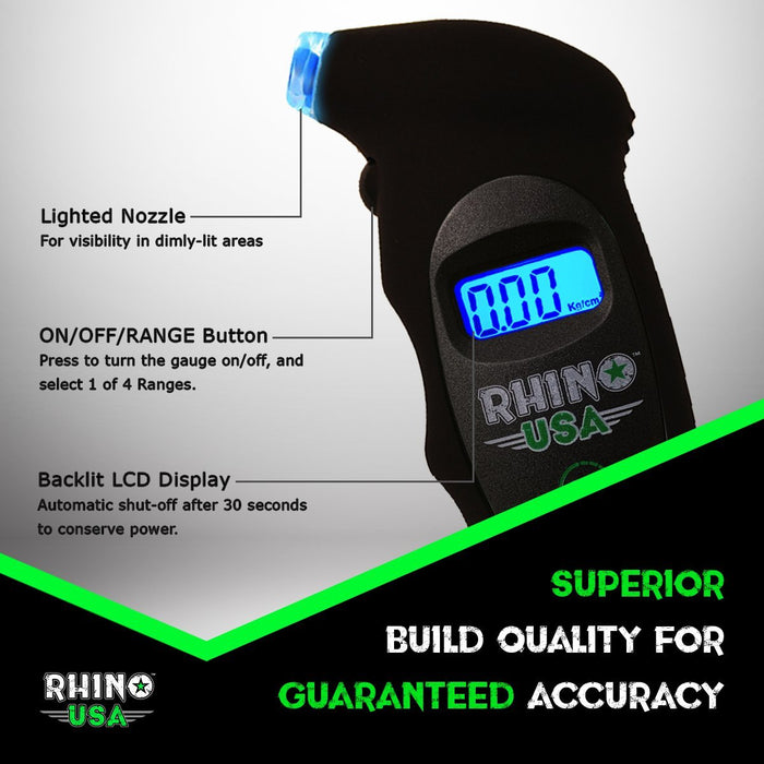 150 PSI Digital Tire Gauge
