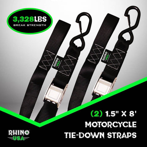 Cambuckle Tie-Down Straps (2-Pack)
