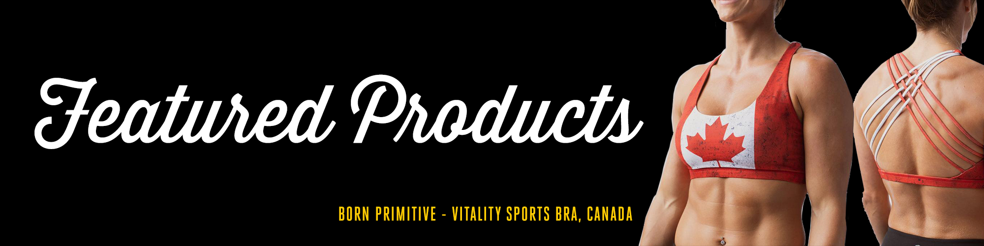 New & Featured Athletic Wear Products for Women in Winter 2022 from Born Primitive Canada at Asskicker Activewear in Barrie, Ontario Canada.