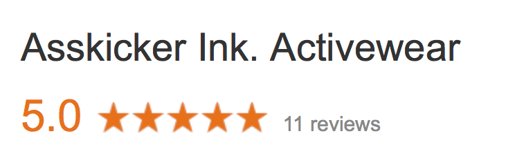 Asskicker Activewear - 5.0 Star Reviews on Google