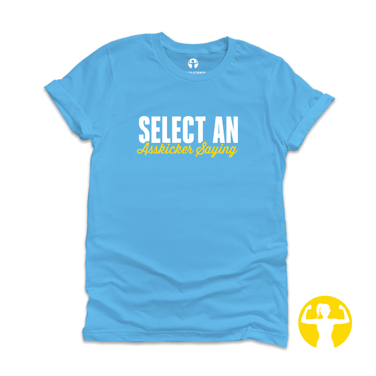 Select a Saying | Premium Unisex Triblend Tee