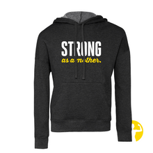 Strong as a Mother - Grey DTM Hoodie