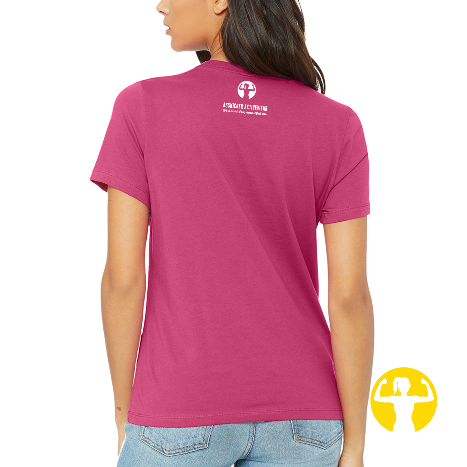 Select a Saying | Ladies' Relaxed Jersey Tee, Berry