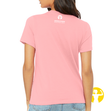 Select a Saying | Ladies' Relaxed Jersey Tee, Pink
