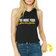 Select a Saying | Cropped Racerback Tank