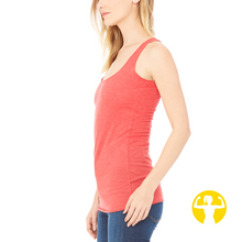 Select a Saying | Ladies' Triblend Racerback Tank (XS)