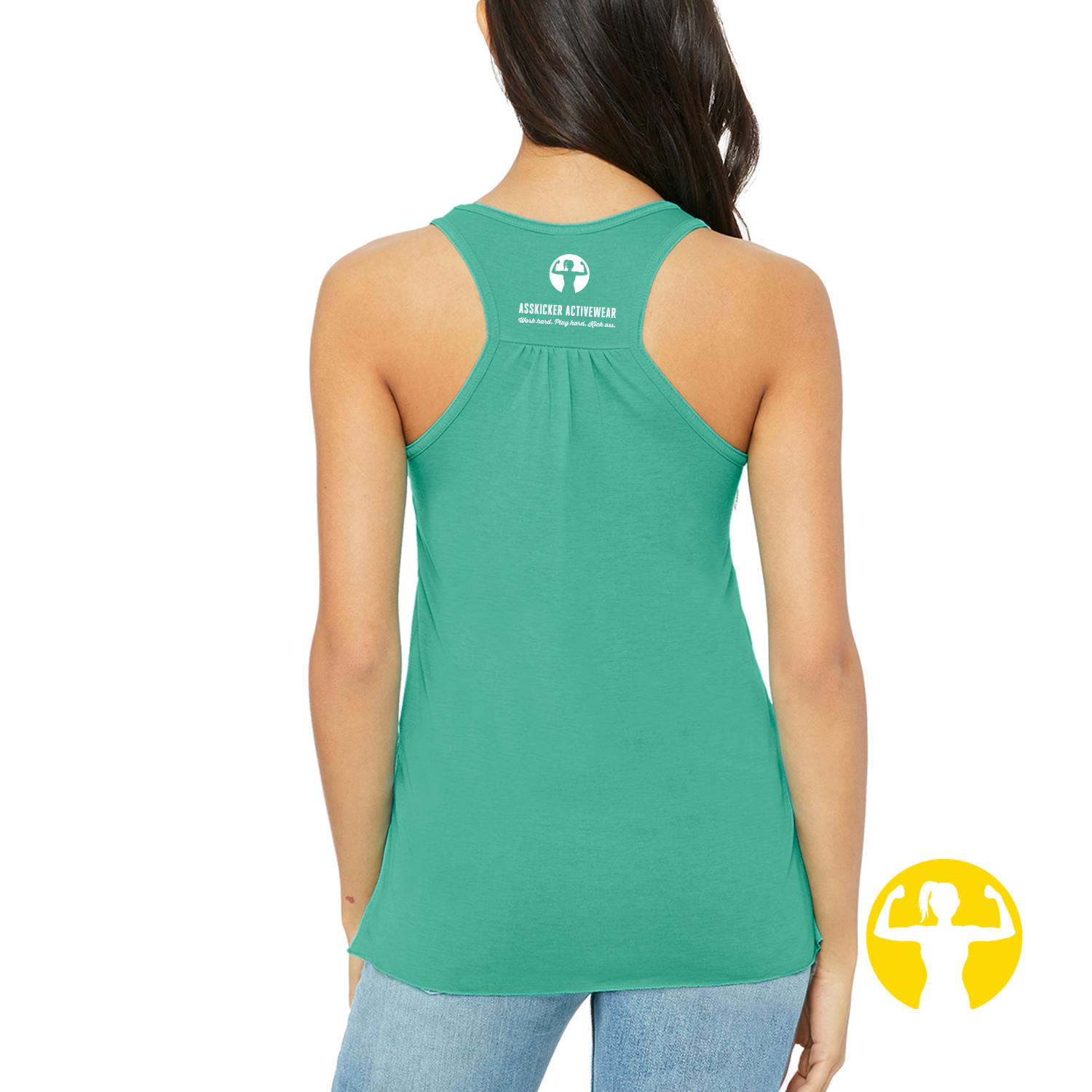 Team Day Drunk | Flowy Racerback Tank