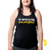 My imperfections are perfect | Flowy Racerback Tank