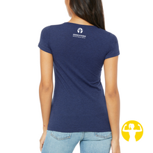 Strong Women Lift Eachother Up | Ladies Triblend Tee (slim fit)