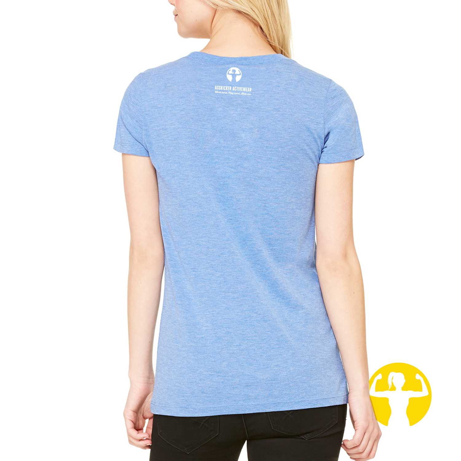 Select a Saying | Ladies Triblend Tee (slim fit)