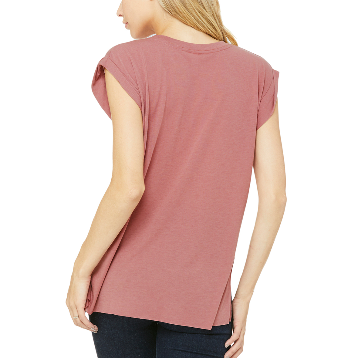 Strong as a Mother - loose fitting, flowy t-shirt for women. This would be the perfect gift for Mother's day!