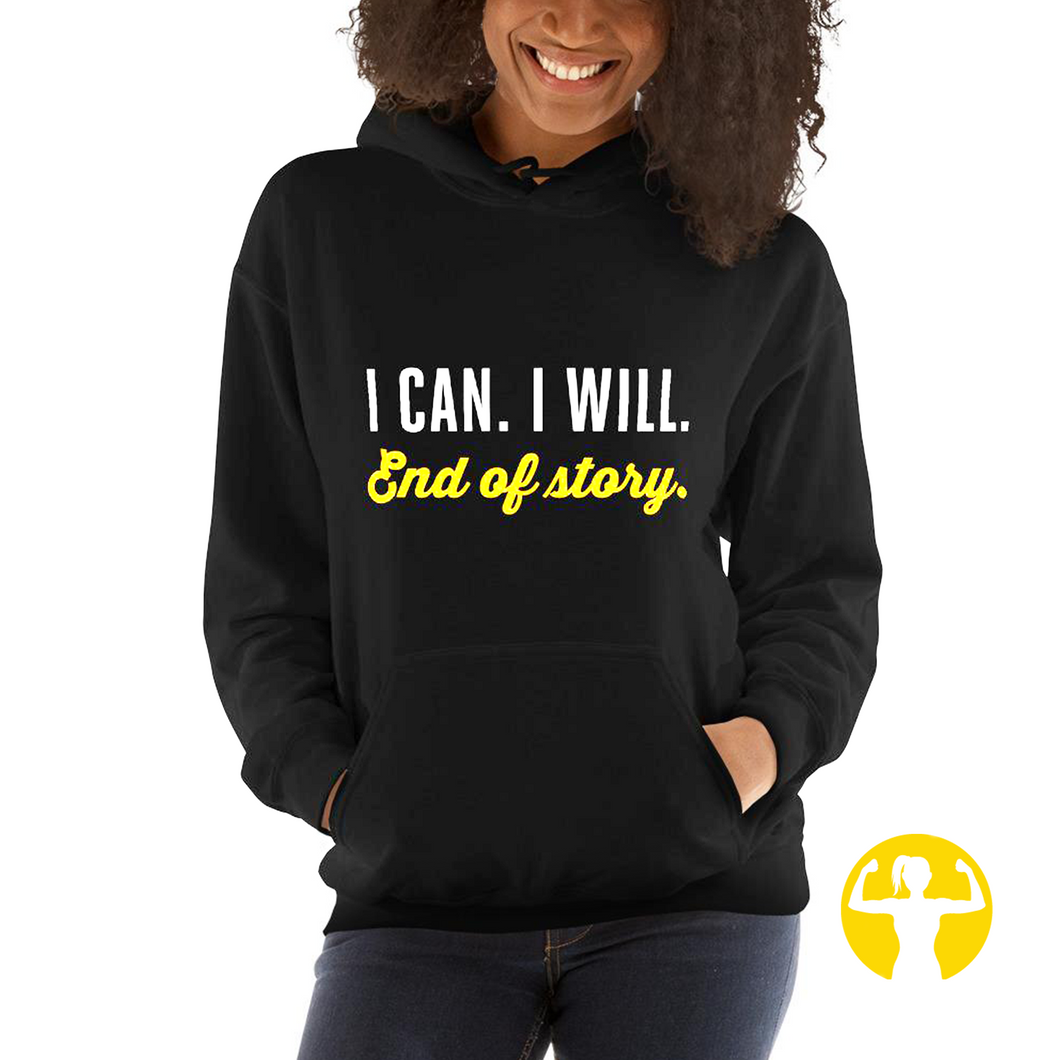 Warm hoodie for women with large size range . S-5XL . 9 Colours . 23 Sayings