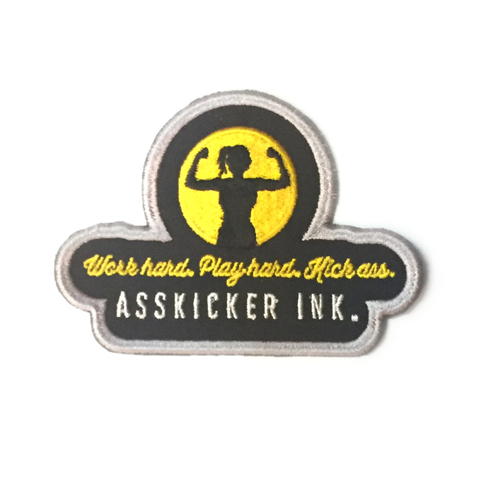 Embroidered Patch | Asskicker Ink. Logo