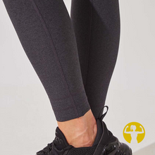 Rapid High Waisted Recycled Polyester Leggings - Charcoal