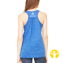 Be stronger than your excuses | Flowy Racerback Tank