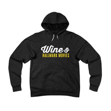 Wine & Hallmark Movies | Sponge Fleece Pullover Hoodie