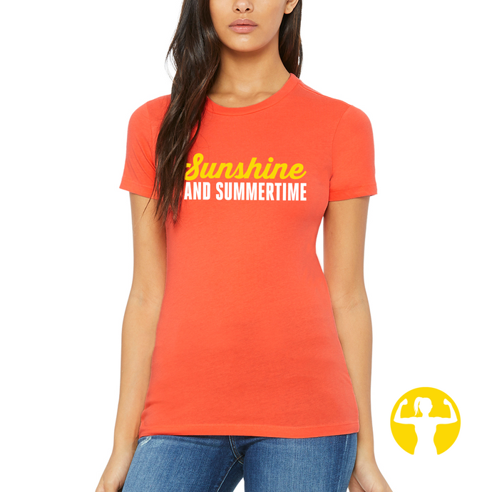 Select a Saying | The Favourite Tee, Coral