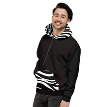 Team Zebra  - get a ref hoodie with your derby name on it. Zebra print on the hood and pocket.