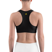 Sports Bra | Black (Made to Order)