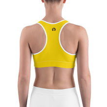 Sports Bra | Asskicker Yellow (Made to Order)