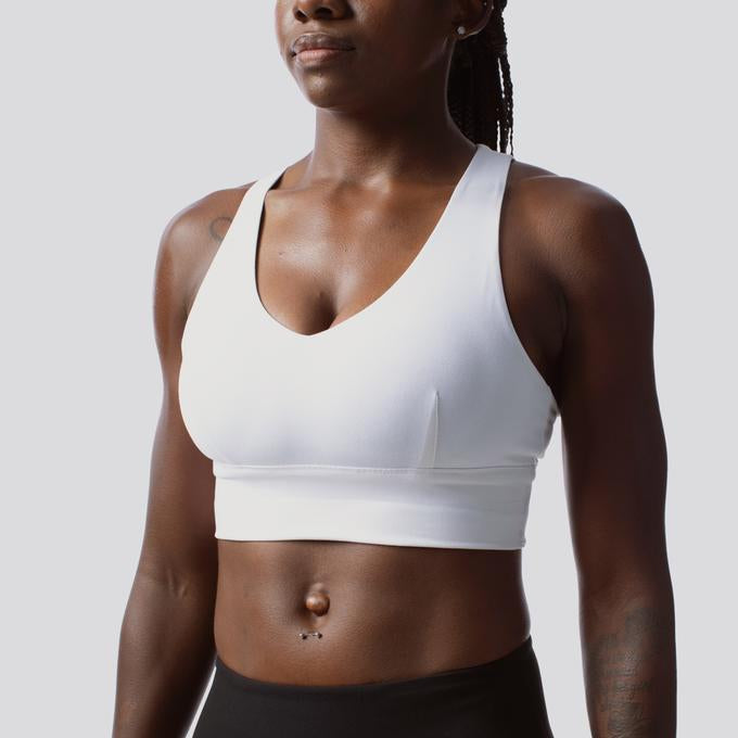 X-Factor Supportive Sports Bras from Born Primitive - white
