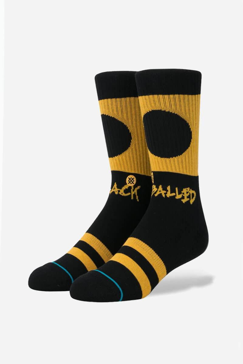 STANCE Socks -Black Balled - SUP2