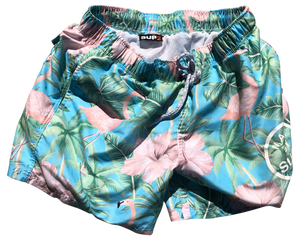 Island Theme Swim Shorts - SUP2
