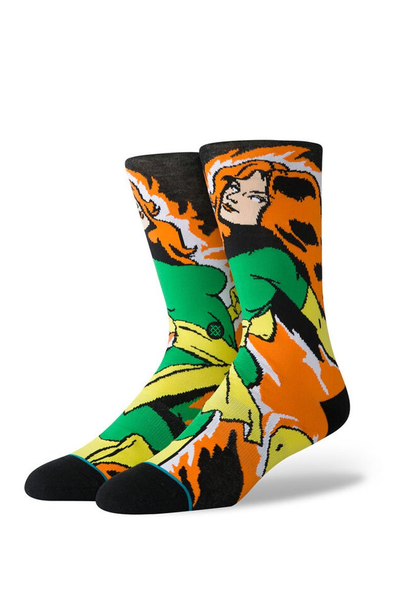 STANCE Socks - Xmen Jean Grey Black - SUP2