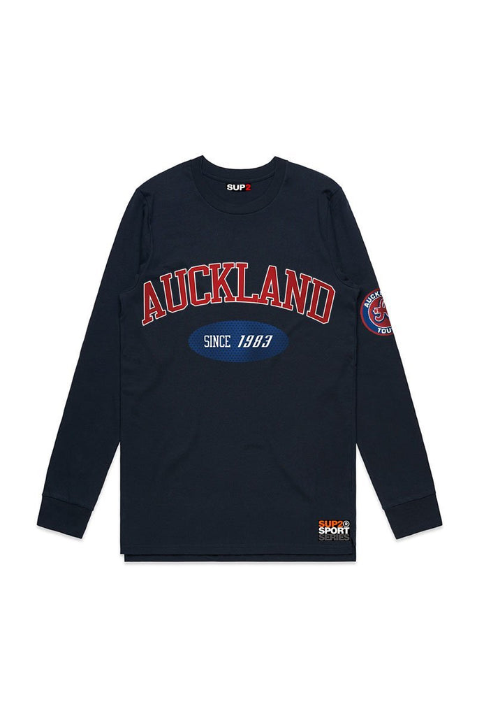Auckland Touch Long Sleeve 2020 Event Tee - SUP2