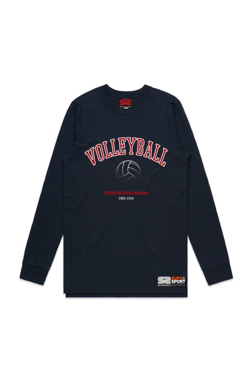 Auckland Volleyball Long Sleeve 2020 Event Tee - SUP2
