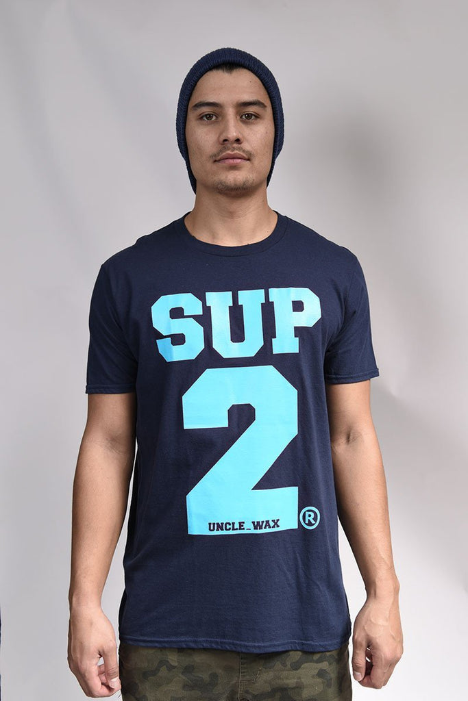 Big Block Mens Tee -Mono grey - SUP2