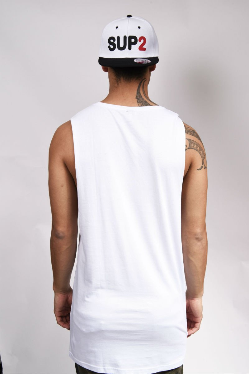 Long Story Mens Sleeveless Tank - SUP2