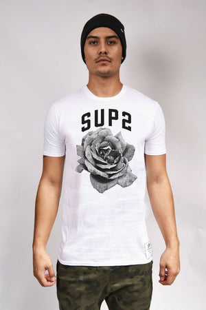 Pixel Rose Mens Tee - SUP2
