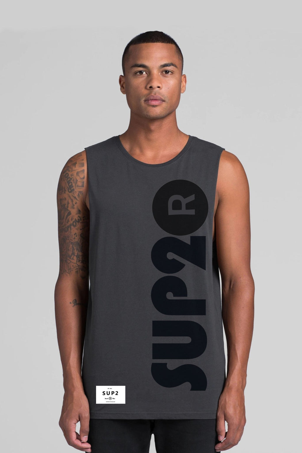 Quietly Loud Mens Sleeveless Tee - SUP2
