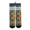 PSD Striped Tropicana Socks - SUP2