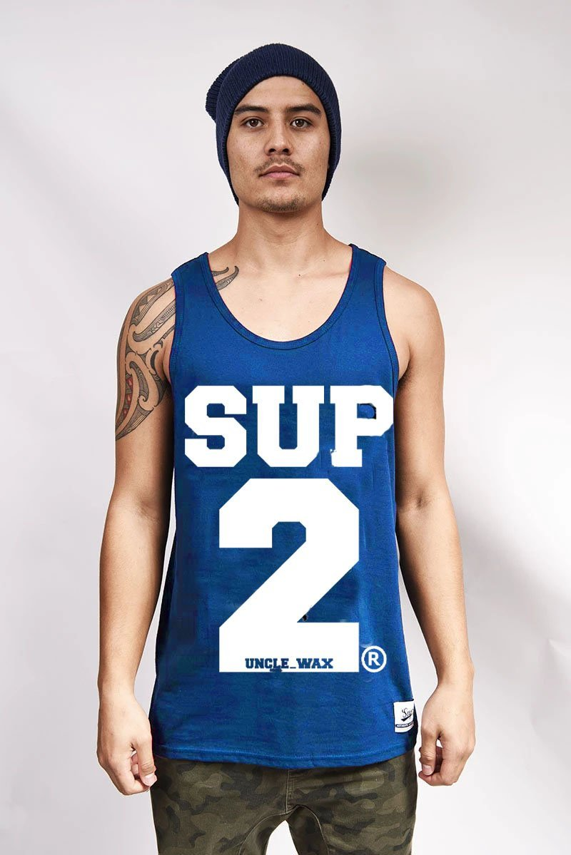 SUP2 Big Block Mens Singlet - SUP2