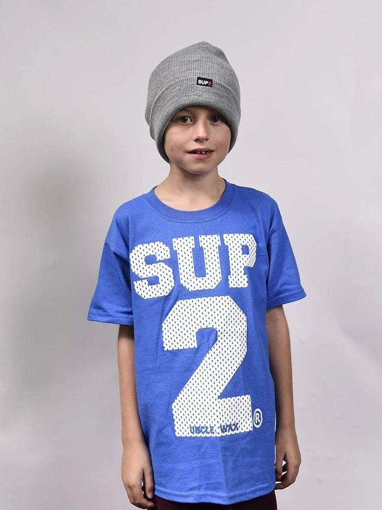 SUP2 'Big Block' Mesh Kids Tee - SUP2