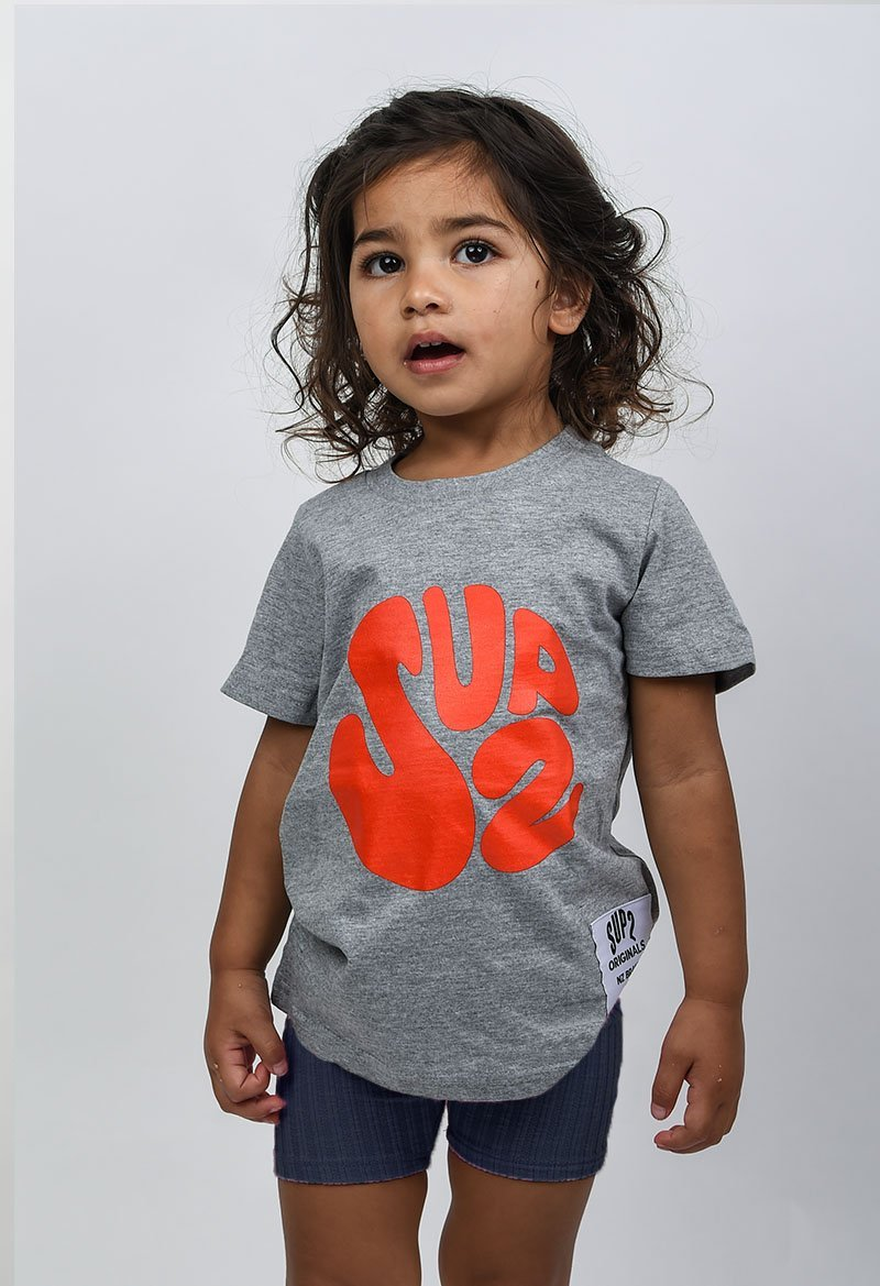 SUP2 'Howl at the Moon' Kids Tee - SUP2