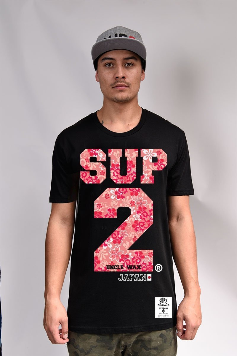 SUP2 Japan Retro Mens Tee - SUP2