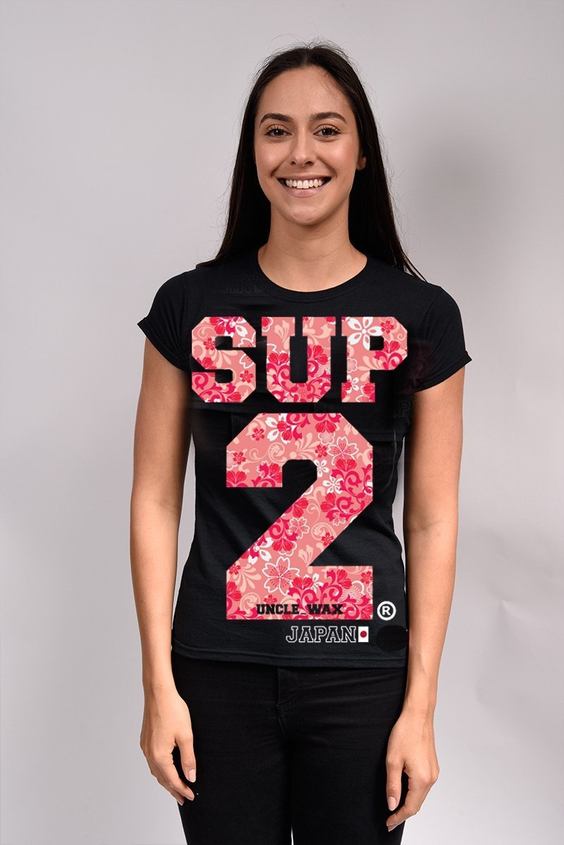 SUP2 Japan Retro Womens Tee - SUP2