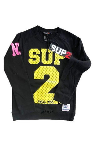 SUP2 Junior Mesh Crew Sweater - SUP2