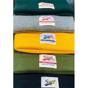 Sup2 Label Everyday Cuffed Beanie - SUP2