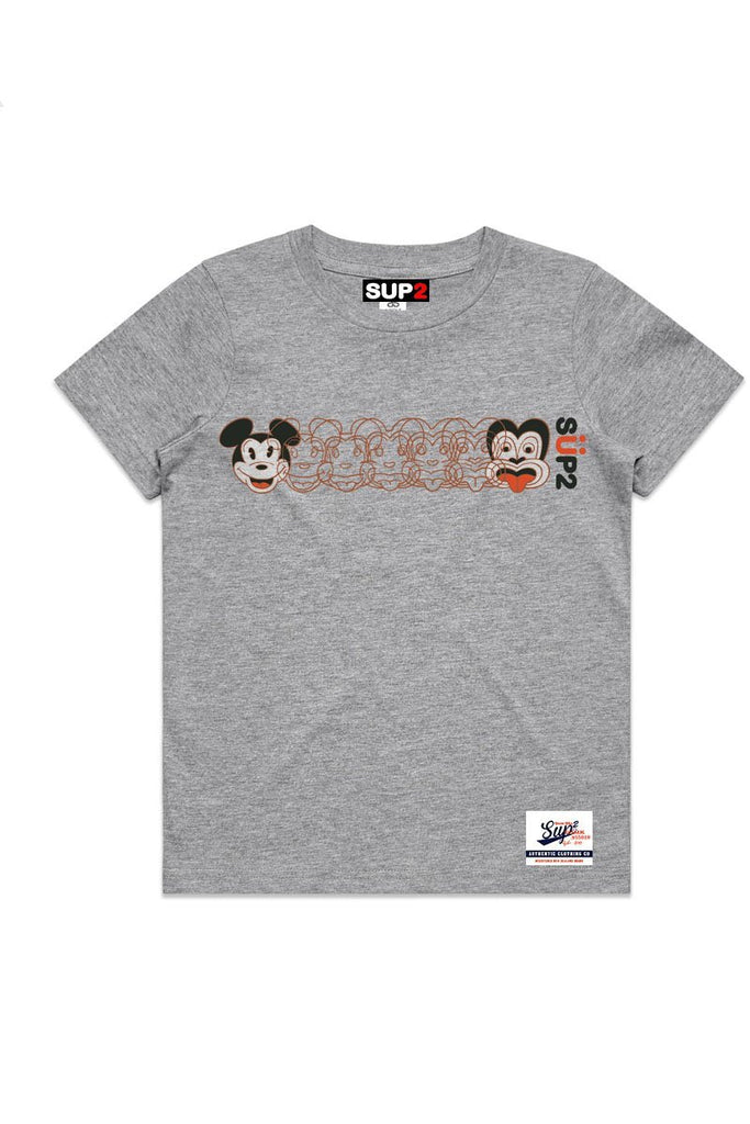 SUP2 'Mickey 2 Tiki' Kids Tee - Dick Frizzell X SUP2 Series - SUP2