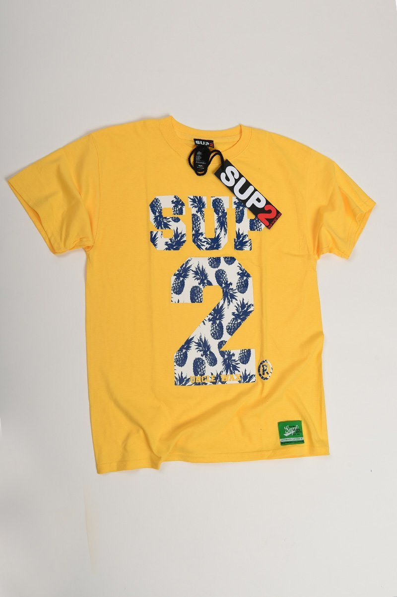 SUP2 Pineapple Print Kids Tee - SUP2