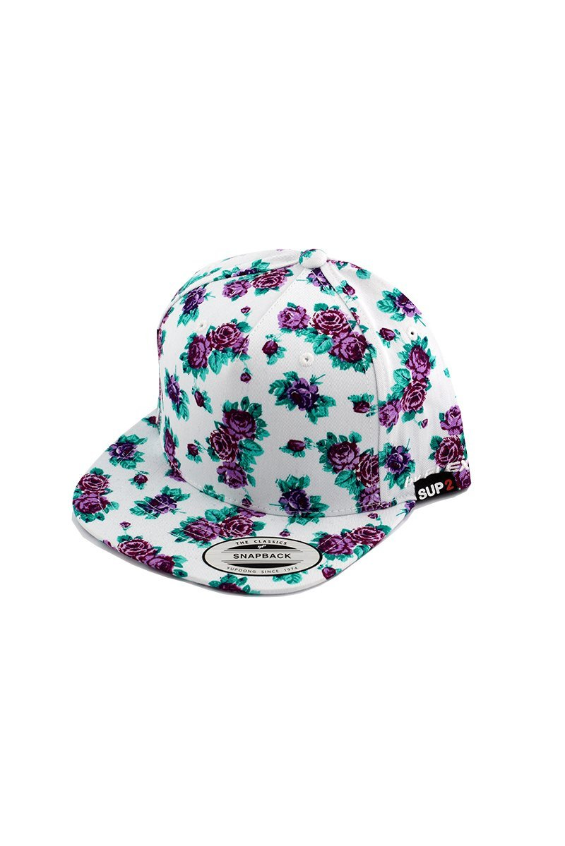 SUP2 Purple Rose Flat Deck Cap - SUP2