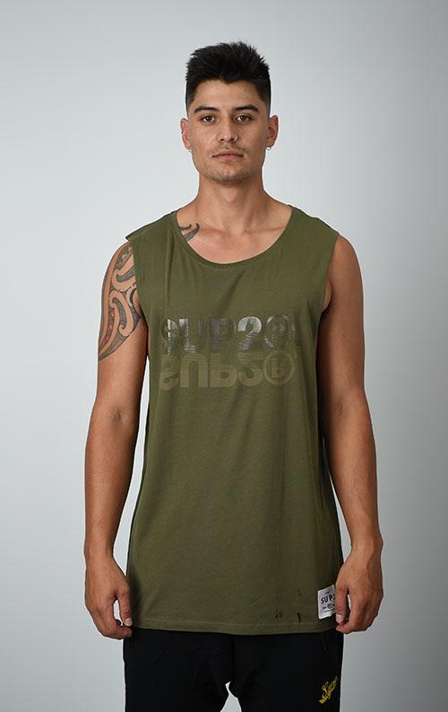 SUP2 Reflection Mens Sleeveless Tee - SUP2