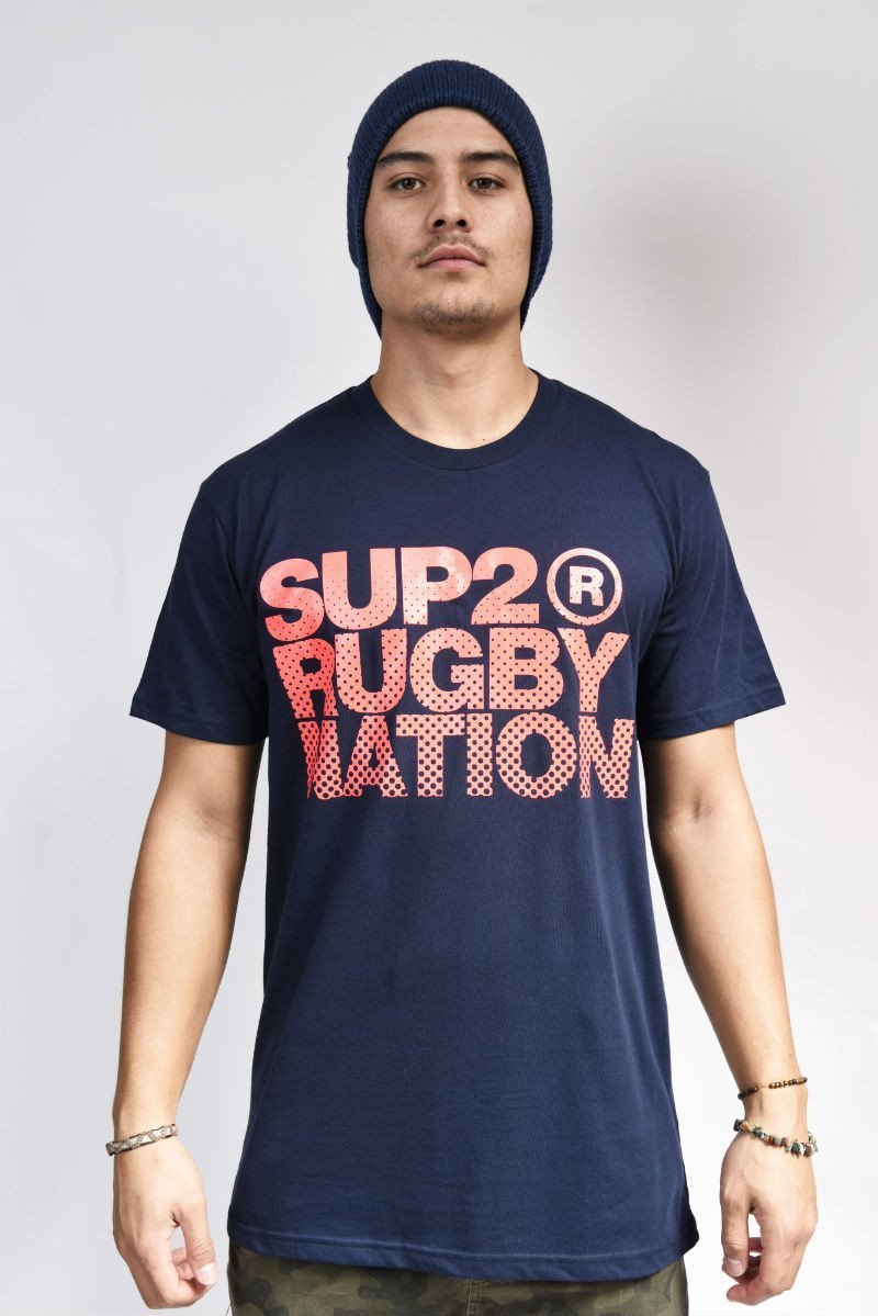 SUP2 Rugby Nation Mens Tee - SUP2