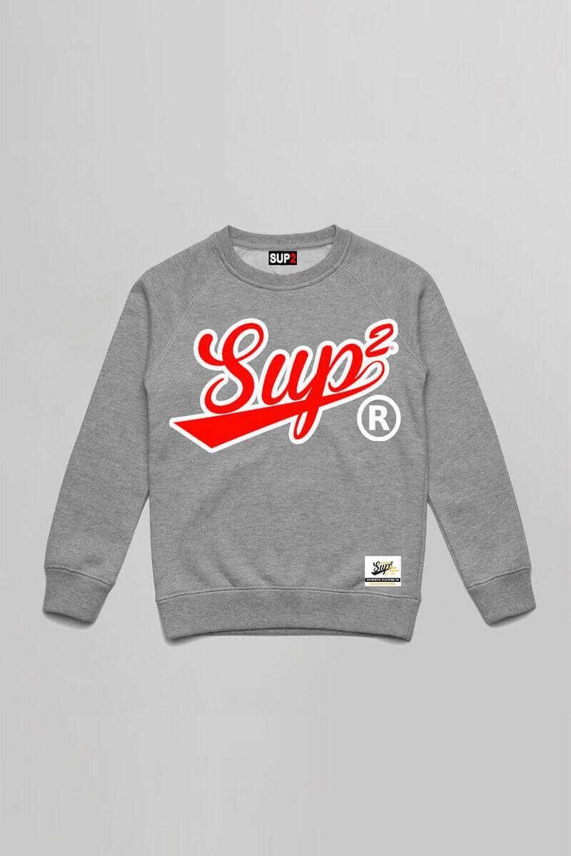 Sports Grey/Red