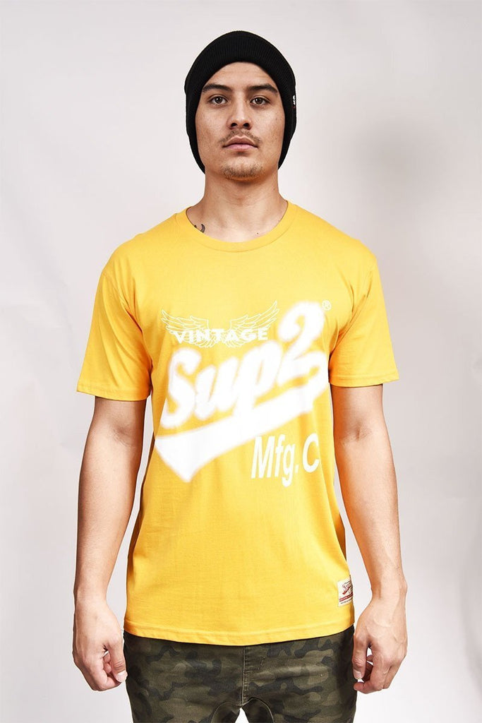 SUP2 Throwback Mens tee - SUP2